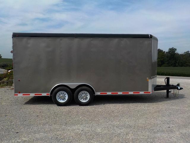 2017 Interstate IWD 718 TA4 Enclosed Cargo Trailer