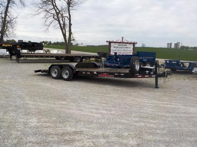 2017 Trailerman Trailers Inc. CTT 8166 N16 CUSHION TILT Equipment Trailer