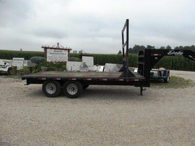 2007 Delta Manufacturing 8616 200 SERIES Flatbed Trailer ** USED **