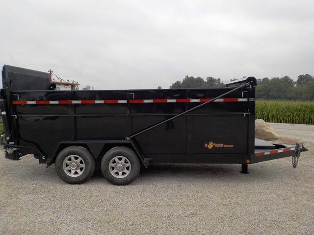 2018 B-Wise DU 16-15 Dump Trailer **USED**