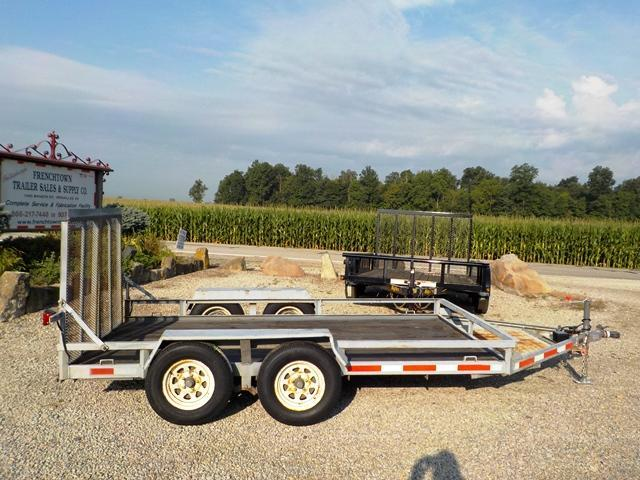 2003 VORE BUILT 83X12TA Utility Trailer **USED**