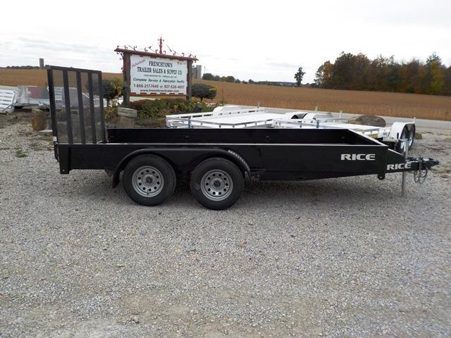 2016 Rice TST 7614 Utility Trailer