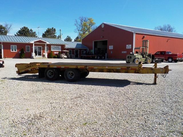 2000 Belshe T-9 2EP Equipment Trailer