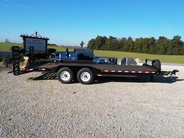 2016 Big Tex Trailers 14DF - 22 BK EXTRA WIDE Equipment Trailer