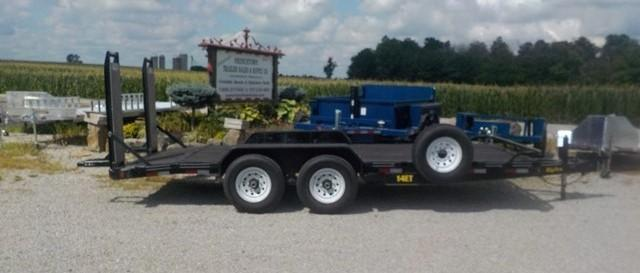 2013 Big Tex Trailers 14 ET-18 Equipment Trailer