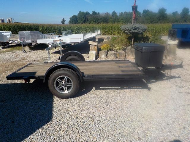 1997 COX TRAILER MFG. 6010 CY Motorcycle Trailer