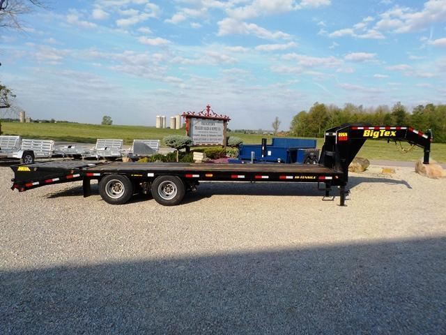 2017 Big Tex Trailers 22GN-HD 20HD-BK 5 MEGA RAMP LO-PRO Equipment Trailer