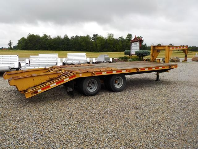 1988 Belshe T-9 2AP Equipment Trailer