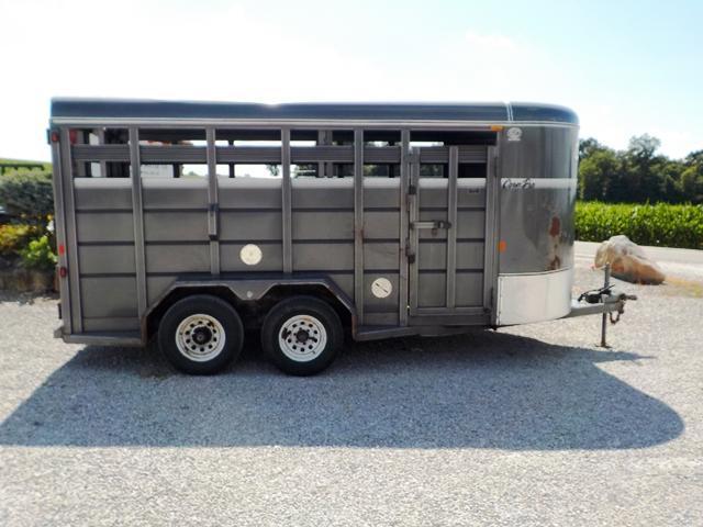 2014 CornPro Trailers SB 16 7S Livestock Trailer