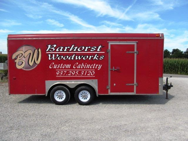 2008 Interstate I-818 TA3 XLT Enclosed Cargo Trailer ** USED **