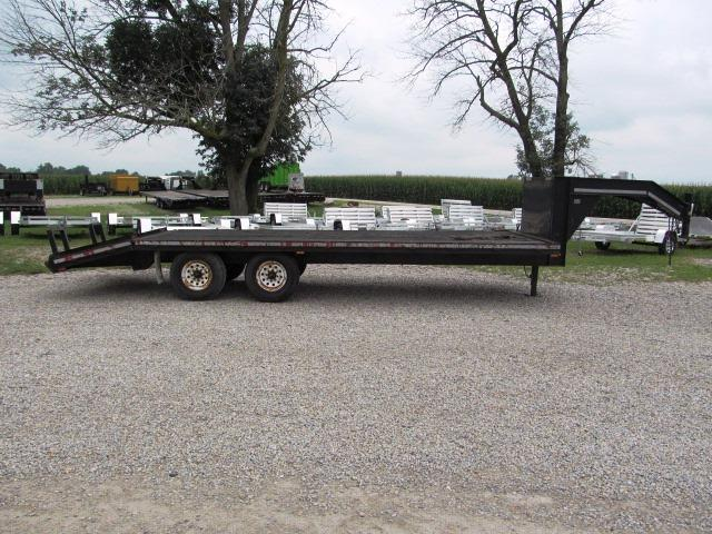 1998 CornPro Trailers 20' + 4' Dovetail Equipment Trailer  ** USED  **