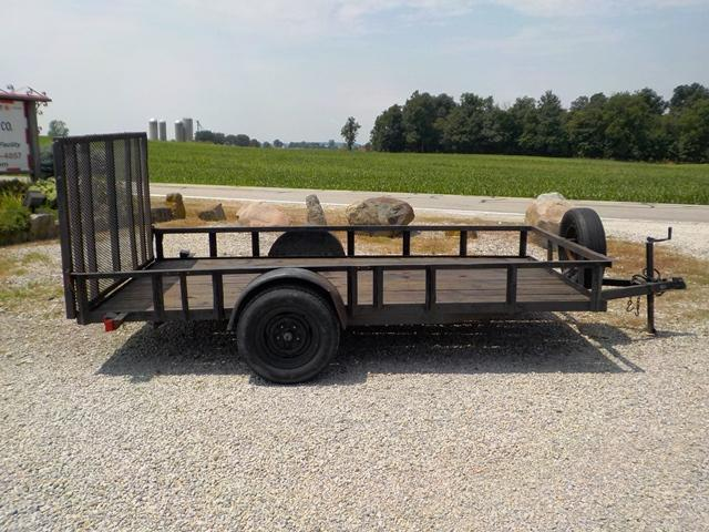 1999 Hughes 7212 Utility Trailer **USED**