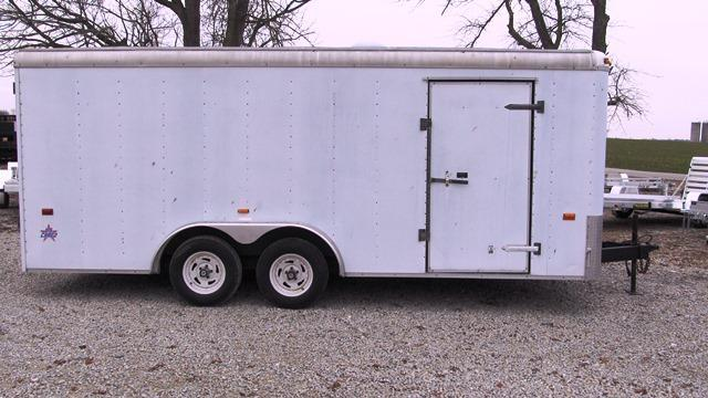 2003 US Cargo USC 818 TA2 Enclosed Cargo Trailer