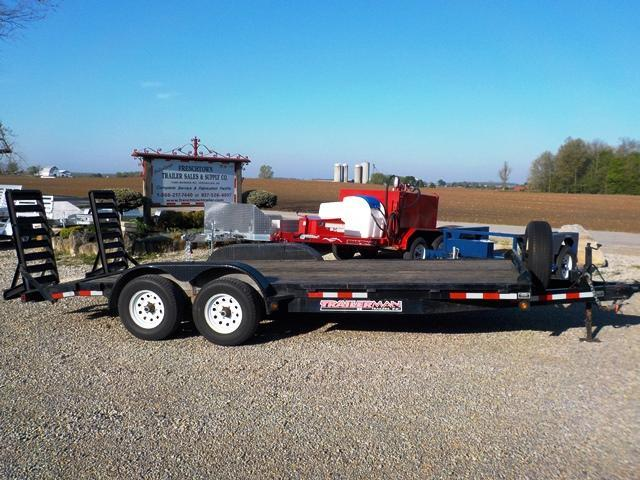 2013 Trailerman Trailers Inc. HCT 7162 S10 Equipment Trailer