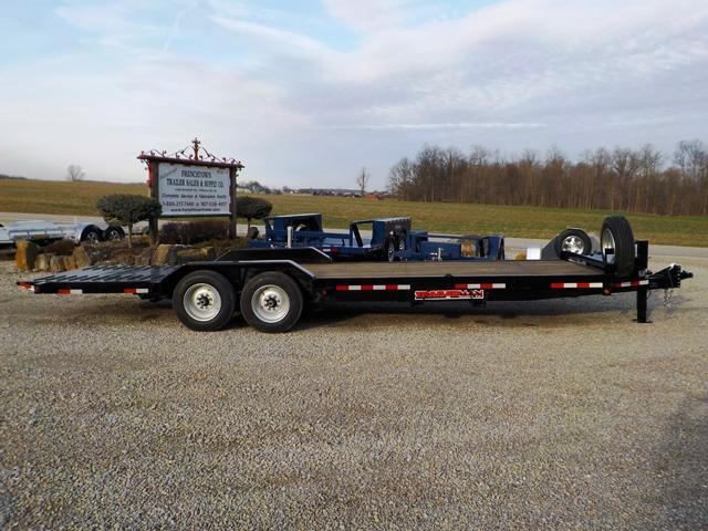 2019 Trailerman Trailers Inc. CST7186H14 Equipment Trailer