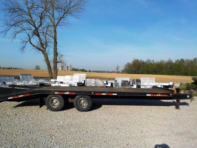 2002 Belshe DT-22 2EP Equipment Trailer