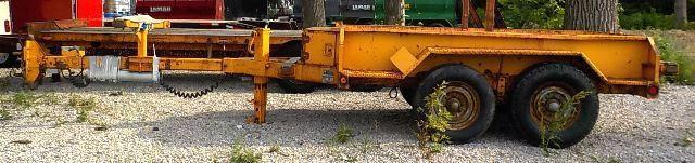 1995 Moran Welding Inc. 2E80 Utility Trailer - USED