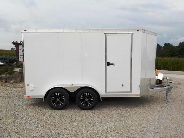 2017 Interstate AFC 712 TA2 All Aluminum Enclosed Cargo Trailer