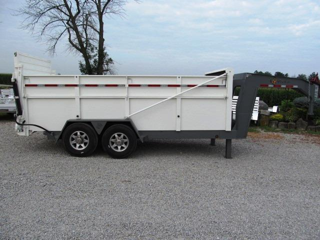 2017 B-Wise DU16-15 ULTIMATE Dump Trailer **USED**
