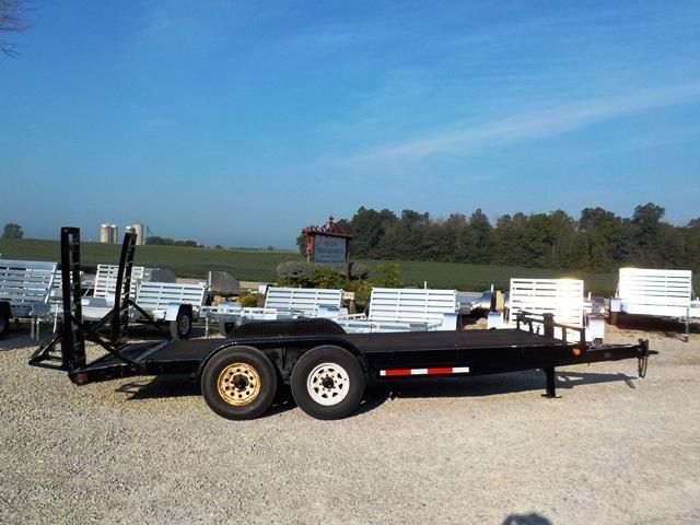 2009 PJ Trailers CCJ1872BSBKODD Equipment Trailer