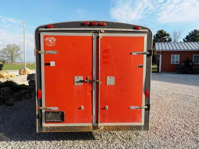 1999 Cargo Express CE 716 XL 2 Enclosed Cargo Trailer