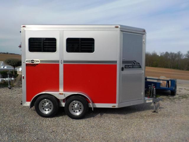2010 Eclipse Aluminum Trailers 2HSLWPSM Horse Trailer