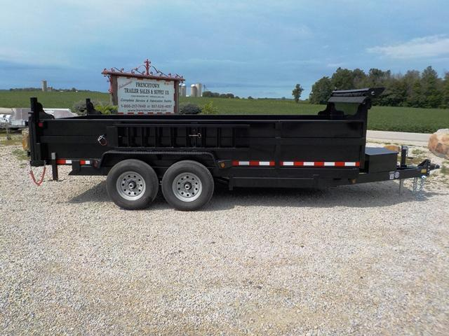 2018 Quality Steel and Aluminum 8316D 14K Low Profile Dump Trailer