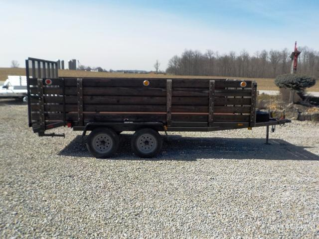1998 Cox Signature Series 614LT  Utility Trailer