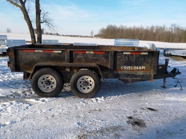 2001 Bri-Mar DT612-12 Dump Trailer