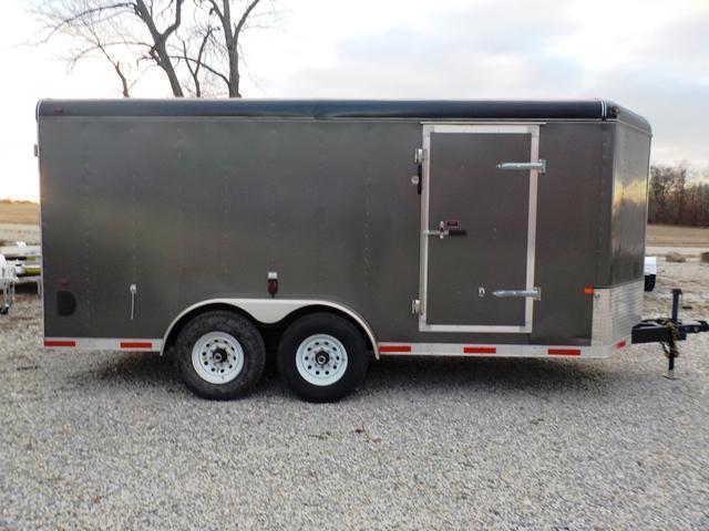 2014 Interstate IWD 716 TA5 Enclosed Cargo Trailer - USED