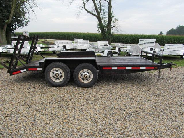 1996 Albers Built 8680142 Equipment Trailer