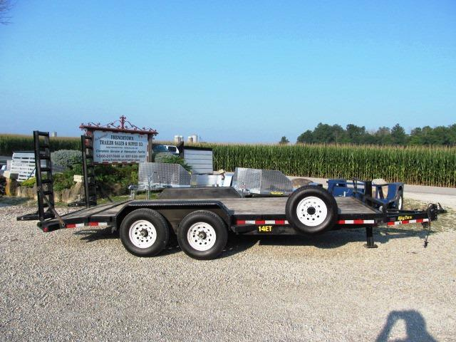 2015 Big Tex Trailers 14ET 18BK Equipment Trailer