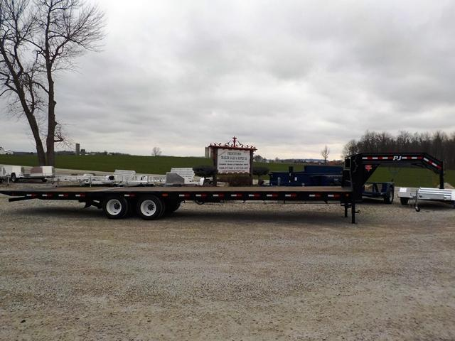 2017 PJ Trailers LYR35N2BSSO Equipment Trailer