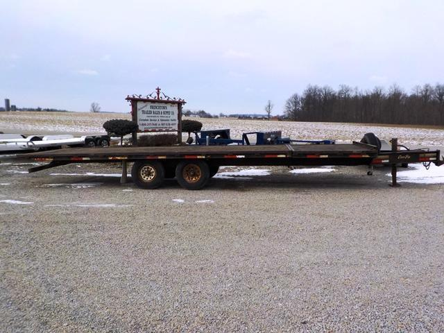 2008 CornPro Trailers DECK OVER 21' + 6' TILT Equipment Trailer