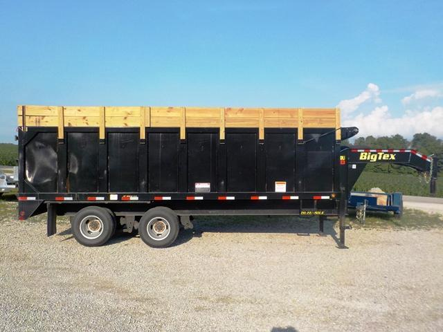 2017 Big Tex Trailers 25DU - 20BK 8SIRR Dump Trailer **USED**