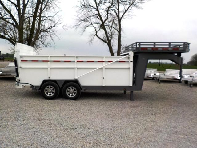 2017 B-Wise 25 DU-G Dump Trailer - USED