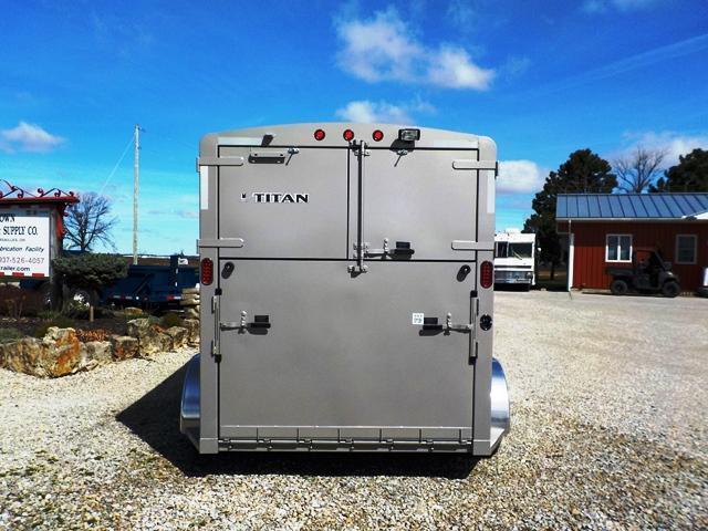 2017 Titan Trailers 68X14 AVALANCHE III / 2 Horse Trailer