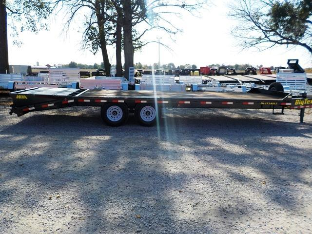 2017 Big Tex Trailers 14PH-20BK5MR Lo Pro Equipment Trailer