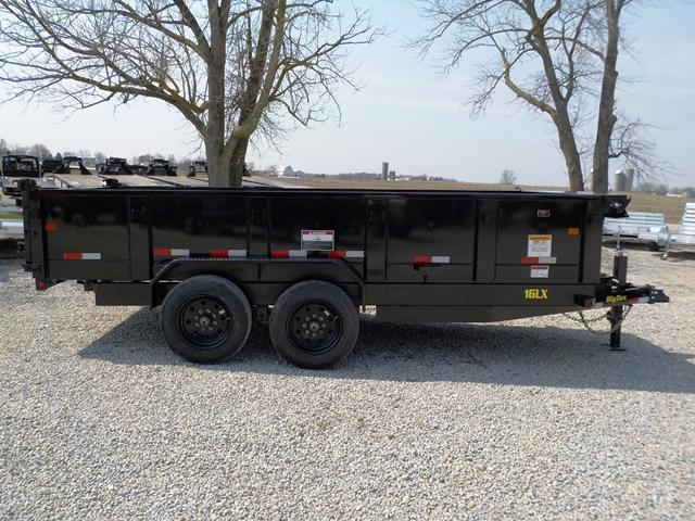 2018 Big Tex Trailers HEAVY DUTY 16LX-16 Dump Trailer