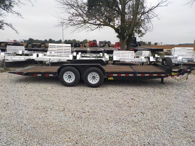 2017 Big Tex Trailers 14TL 20BK Equipment Trailer