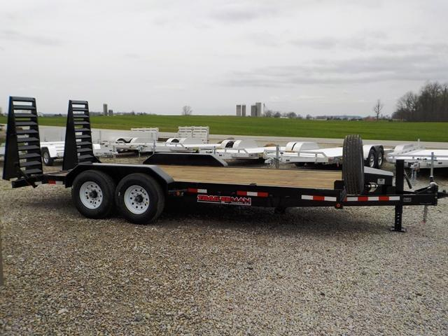2019 Trailerman Trailers Inc. CST 7162 S14 Equipment Trailer