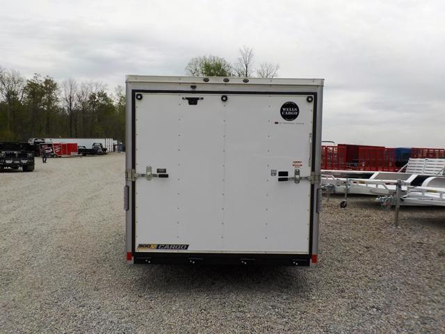 2017 Wells Cargo WCVG 716 TA2 Enclosed Cargo Trailer