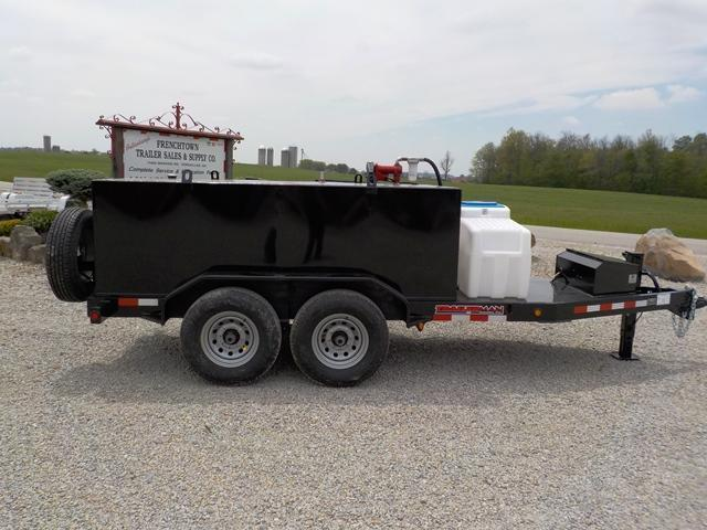 2017 Trailerman Trailers Inc. TTT5012N14 Fuel Tank Trailer
