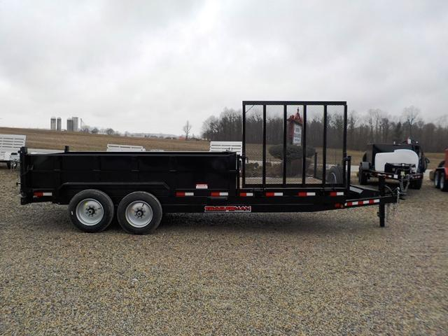 2018 Trailerman Trailers Inc. SD7612 N14 Dump Trailer