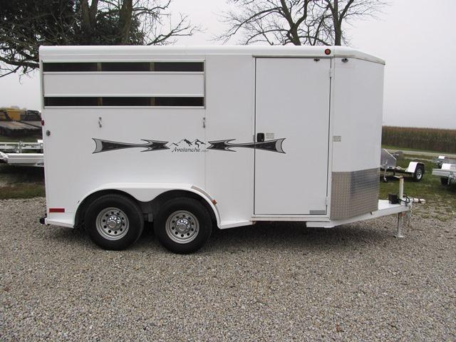 2008 Titan Trailers AVALANCHE I 68X14 2 Horse Trailer **USED**