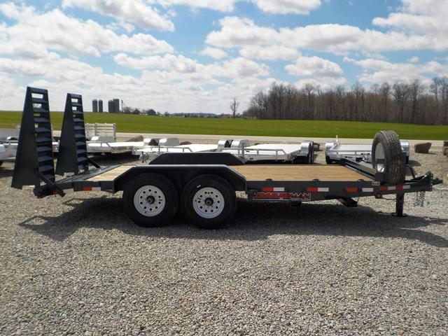 2019 Trailerman Trailers Inc. CST 7142 S 14 Equipment Trailer