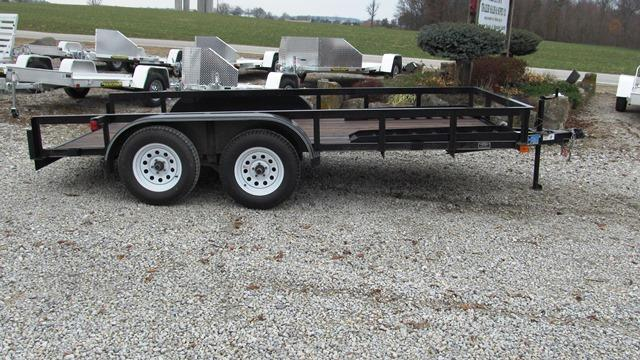 2013 Top Hat Trailers EA14X16.5 Utility Trailer **USED**