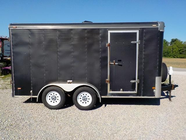 2003 Haulmark KD714 Enclosed Cargo Trailer