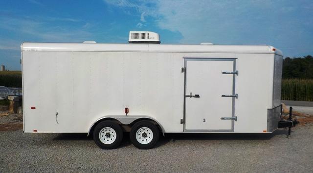 2007 Interstate IWD 720 TA3 Enclosed Cargo Trailer