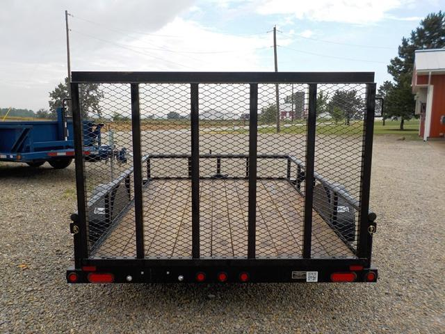 2017 Big Tex Trailers 35SA-10 Utility Trailer